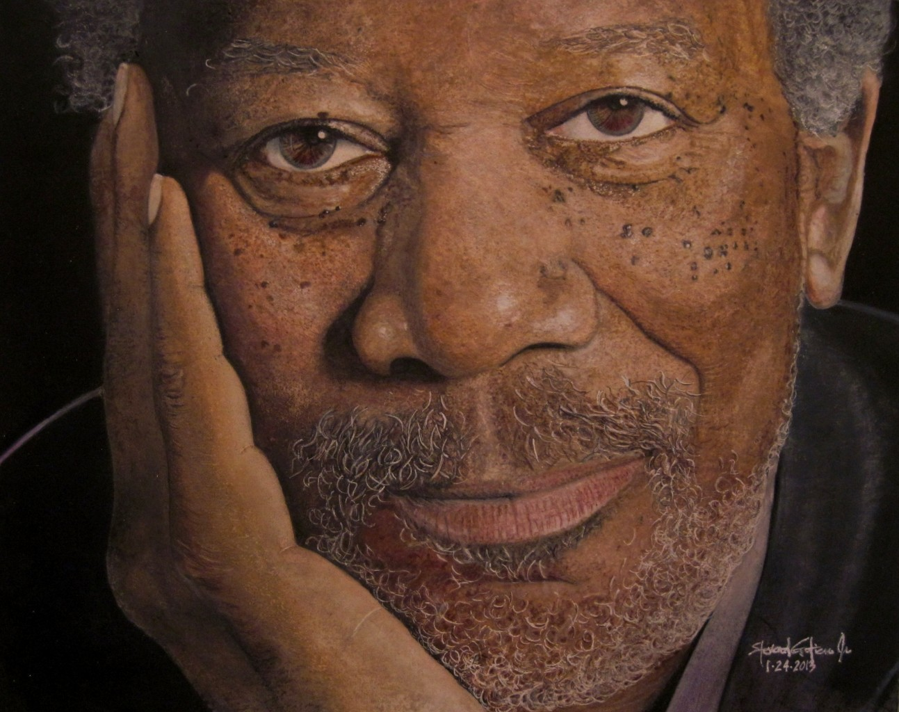 Color pencil illustrations by Steven Gutierrez