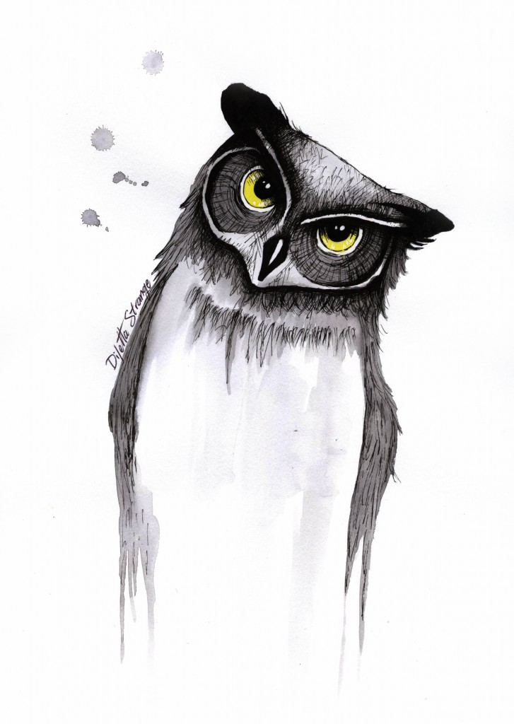 Ink illustration Diletta Strange
