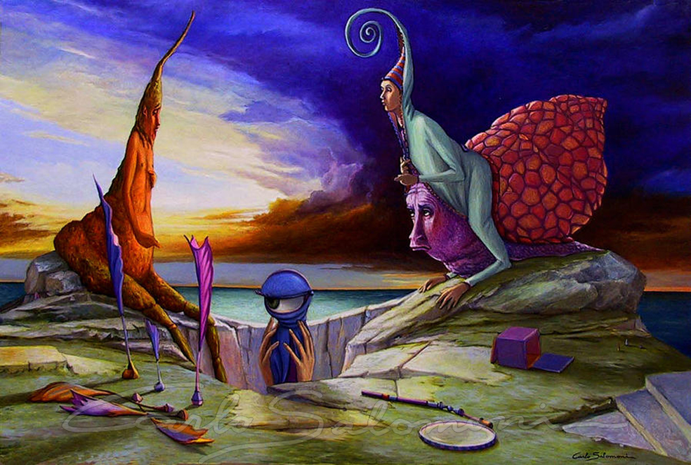 Surrealism - paintings Carlo Salmoni