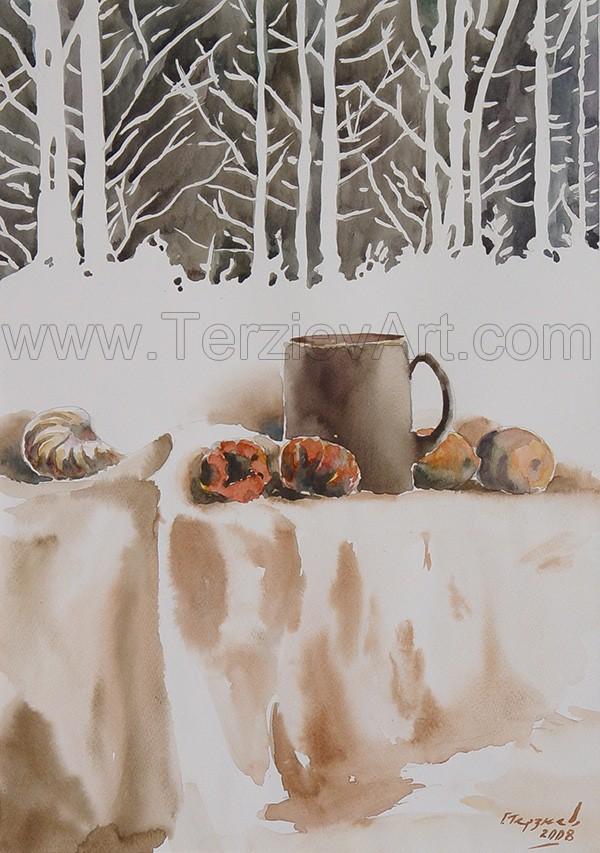 Watercolor Paintings - Georgi Terziev (10)