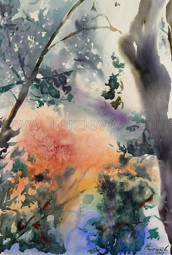 Watercolor Paintings - Georgi Terziev