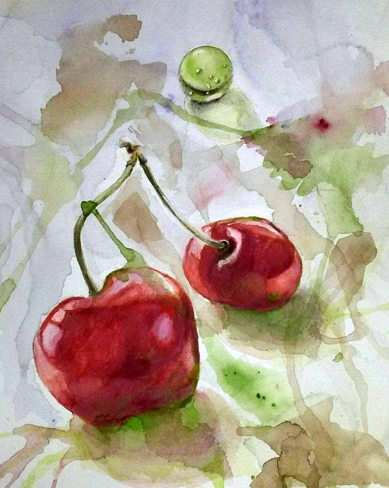 Watercolor and Oil Paintings by Jurga Ryan