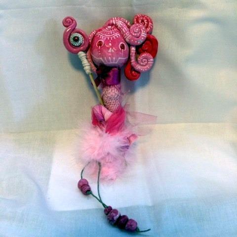 Handmade dolls by Angela Fullard
