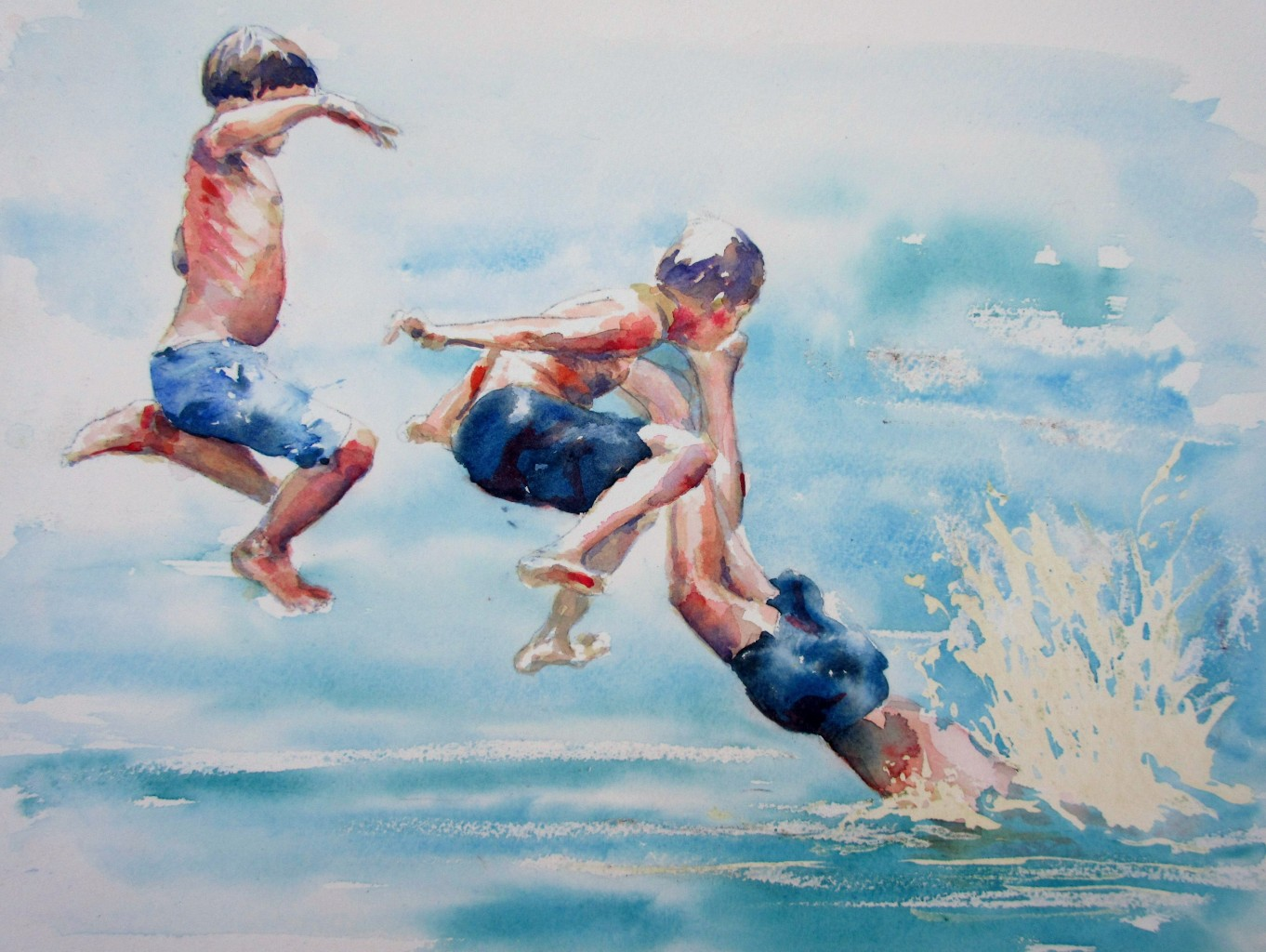 Watercolour Paintings by Claire Bartlett