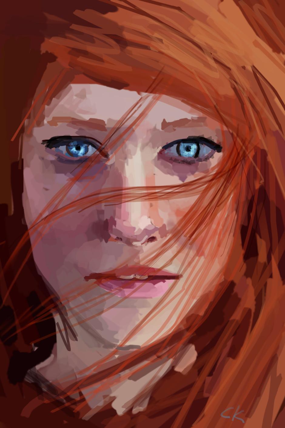 Digital art by Christian Kruger
