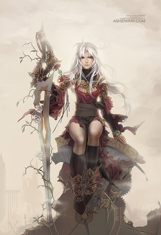 Manga and Illustration by Shilin Huang