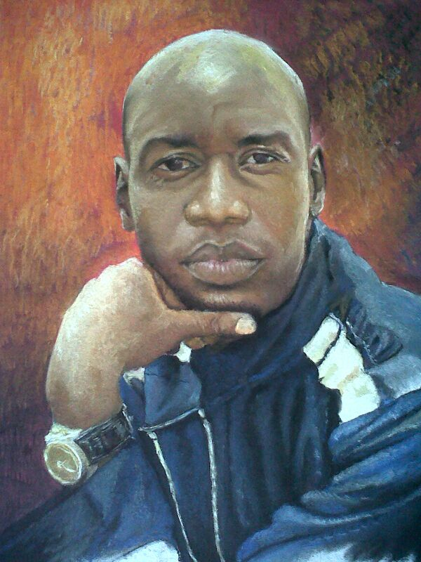 Paintigns by Cliff Agba