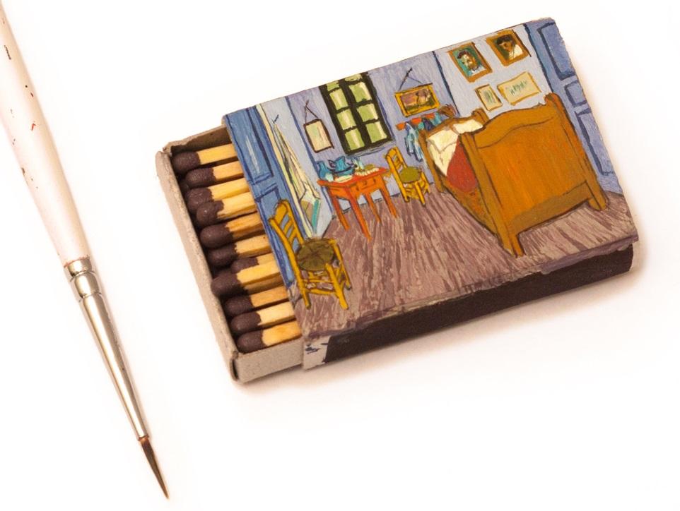 Salavat Fidai - Miniatures on matchsticks box