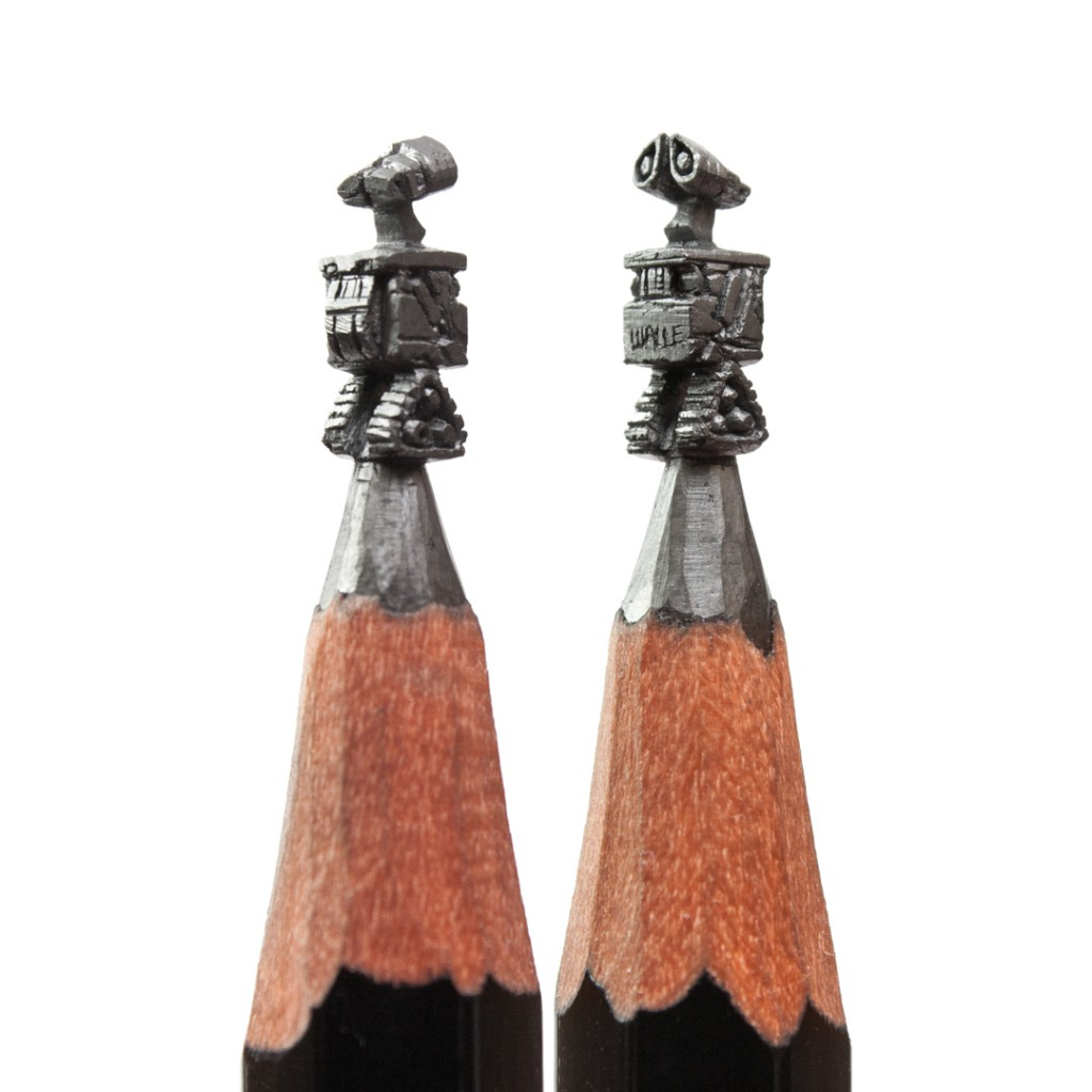 Walle - Salavat Fidai - Micro sculptures pencil carving