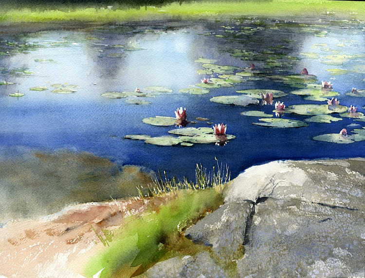 Watercolors by Vladimir Tuporshin