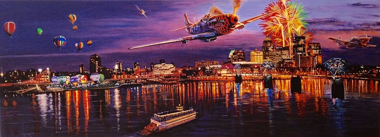 James-Wempe-Thunder-over-Louisville-acrylic-on-hardboard