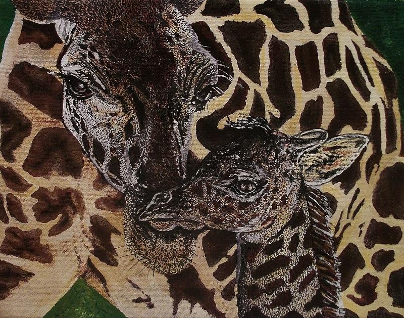 Mixed medium paintings by Vicki A Wonderlin Morlan