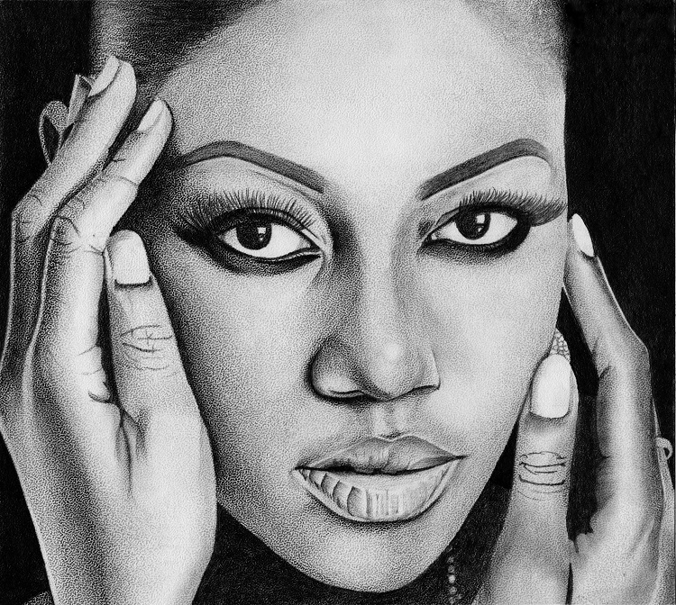 Pencil art by Morris Mensah Baffoe