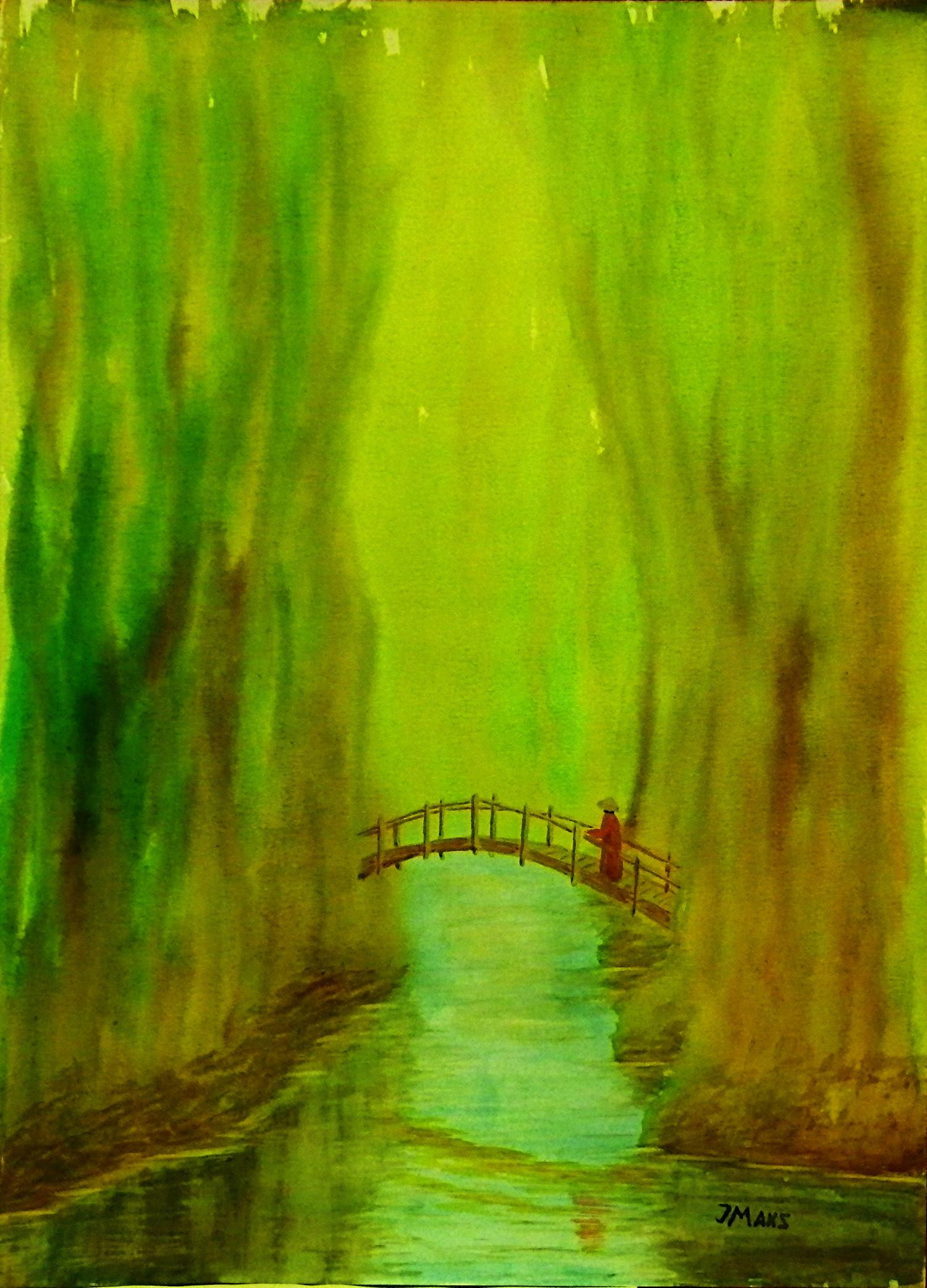 Watercolor paintings by Jev Maks