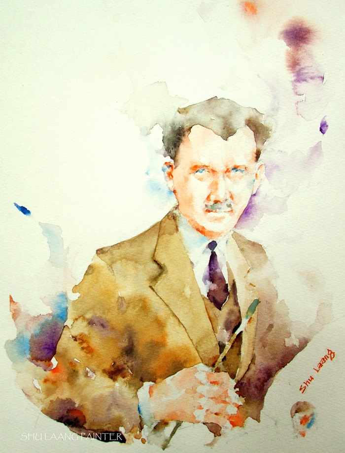 Alfred Joseph Casson - Watercolour painting by Goh Shu Laang