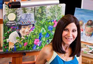 Artist Sheila Hetherington