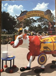 Texas Cow parade 2001