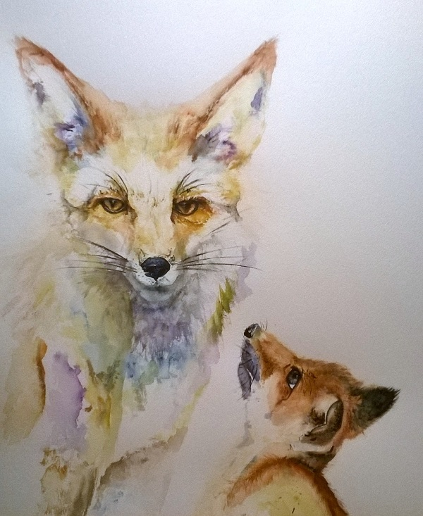 Watercolour paintings by Emma Underwood