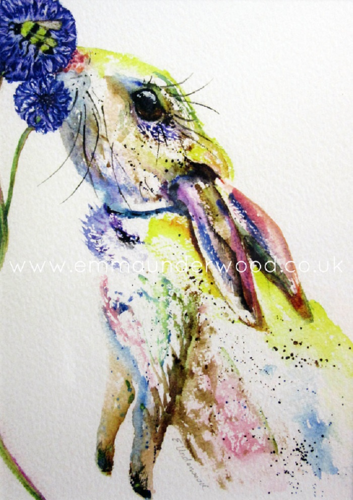 Watercolor paintings by Emma Underwood