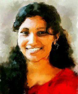 Artist Ramya Sadasivam