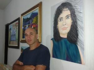 Artist Sergio Maria Dos Santos