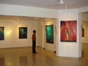 artist Satyajit Chanda