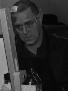 Artist Colin Chadwick